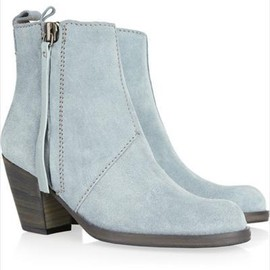 Acne - Acne Pistol Suede Ankle Boots