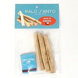 the Apartment blue - PALO SANTO -MADE IN ANDES-