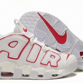 nike air max more uptempo white red men sneakers - nike air max more uptempo white red men sneakers