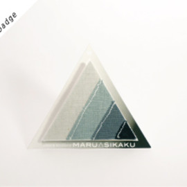 MARU△SIKAKU - graytone badge