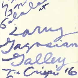 Cy Twombly - Three Notes from Salalah Poster