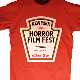 NEW YORK horror film fest tee