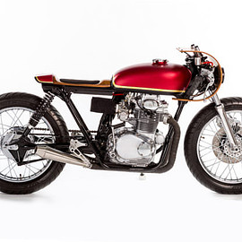 Monnom Customs - Honda CB350 Cafe Racer