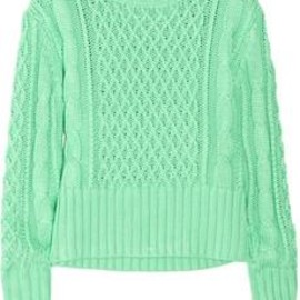 Acne - Lia Cable-Knit Sweater