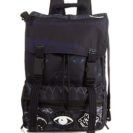 KENZO - Badge-embellished nylon backpack