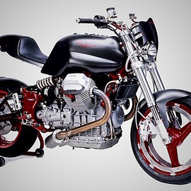 Filippo Barbacane - 2001 Guzzi V11 Cafe Fighter
