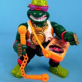 play mates - TMNT RAPPIN' MIKE