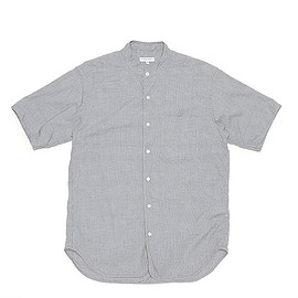 ENGINEERED GARMENTS - Copley Shirt-Small Houndstooth-Grey