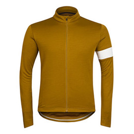 Rapha - Long Sleeve Jersey / Old Gold