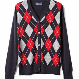 Fred Perry - Argyle Cardigan