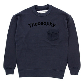 COSMIC WONDER Light Source - THEOSOPHY PRINTED SWEAT TOP