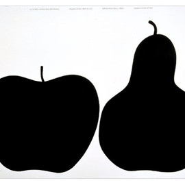 DANESE - Screen Print Apple and Peer