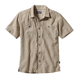 patagonia - Patagonia Men's Back Step Shirt - Chambray: Ash Tan CMAT