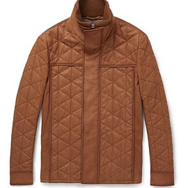 Berluti - Quilted Washed-Nubuck Jacket