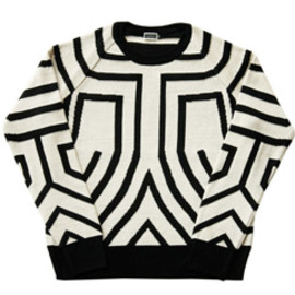 CYDERHOUSE - DADA Knit (white/black)