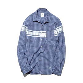 uniform experiment - RIDERS LINE REGULAR COLLAR SHIRT
