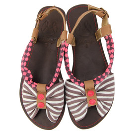 MAAJI - STRIPED SANDAL