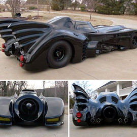 The Homemade Batmobile. Inspired by the 1989 Batman movie!!