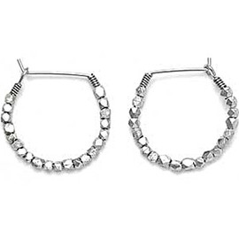 Satya - Hoop Earrings (Small) by Satya Scainetti & Beth Torstrick