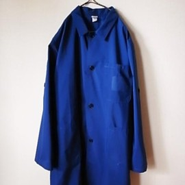 LILY1ST VINTAGE - 1980-90's italian work shirt coat