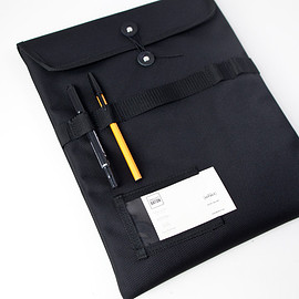 WONDER BAGGAGE - WONDER BAGGAGE / Document case : black