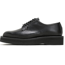 foot the coacher - Country Manner Plain Shoes-Black