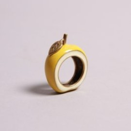 oldgold boutique - Apple Ring - Delicious Yellow
