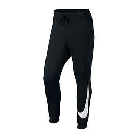 NIKE - NIKE AS M NSW JGGR FLC HYBRID  BLACK/WHITE