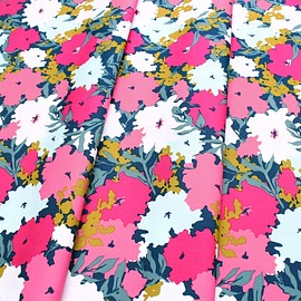 Art Gallery Fabrics - Splendid Fusion Petally Splendid