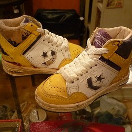"converse - 「<used>80's converse REVOLVER lakers""made in TAIWAN"" size:US8(14cm) 3500yen」販売中"