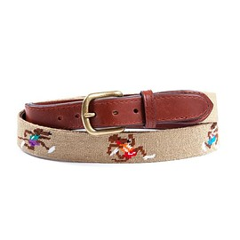 Noah NYC - Rat Race Needlepoint Belt