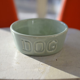 BAUER POTTERY - DOG BOWL