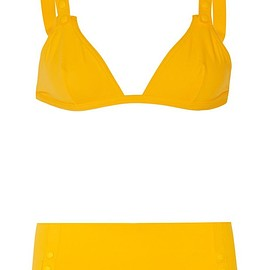 Eres - Fruity triangle bikini top