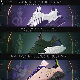 adidas Originals - DRAGON BALL Z - FRIEZA / CELL / MAJIN BUU