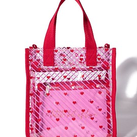 LESPORTSAC - CLEAR SM TOTE ライトハーテッド