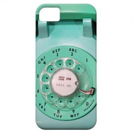 iphone5 case - call me rotary dial phone