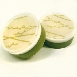 Luulla - Violet Lime Scented Climbing Vines Graphic Glycerin Soap