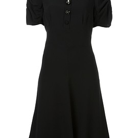 Marc Jacobs - buttoned flared dress