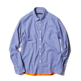 SOPHNET. - PIPING REGULAR COLLA SHIRT