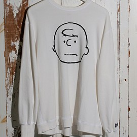 VOTE MAKE NEW CLOTHES - CHARLIE BROWN VTG BIG SWEAT