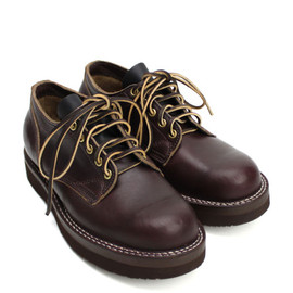 VIBERG BOOTS -  145 OLD OXFORD Horween Chromexcel Ice Merlot x Vibram #2021 Sole Brown