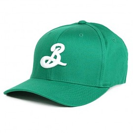 "Brooklyn Brewery - ""B"" Fitted Cap - Green"