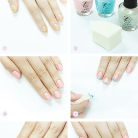 Lioele - Cotton Candy Nails