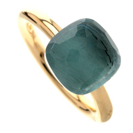 Pomellato - Ring with Blue Topaz, K18