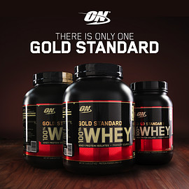 Optimum Nutrition - There's Only One Gold Standard.