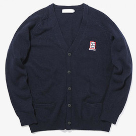 have a good time - haveagoodtime X TINT SCHOOL CARDIGAN NAVY