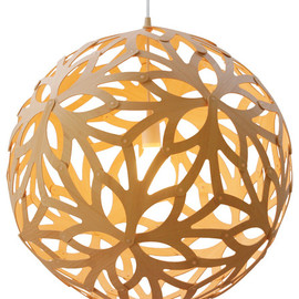 David Trubridge - Floral 600 Bamboo Suspension Lamp