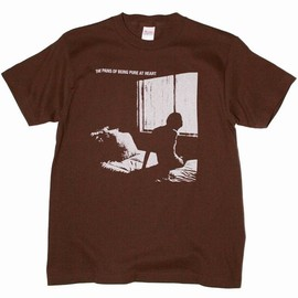 Pains Of Being Pure At Heart - T-Shirt HIGHER THAN THE STARS (BROWN)