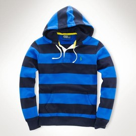 POLO RALPH LAUREN - Fleece Placket Hoodie