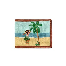 Brooks Brothers - Needlepoint Hula Billfold